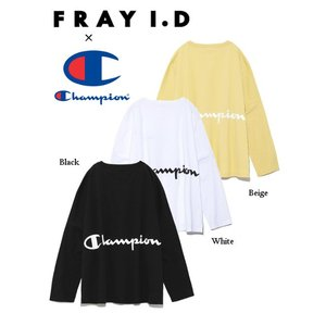 40%OFF FRAY I.D フレイアイディー  チャンピオンバッグプリントロングスリーブTee  19春夏予約 FWCT191004 定価9600円|hearty-select