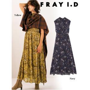 FRAY I.D フレイアイディー ヴィンテージフラワーワンピース  19秋冬予約 FWFO194086|hearty-select