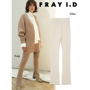 FRAY I.D フレイアイディー ニットパンツ  19秋冬予約 FWNP194079|hearty-select