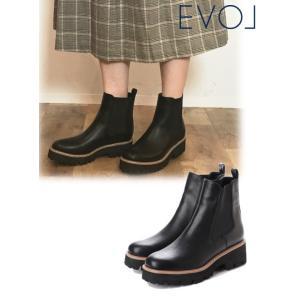 EVOL イーボル サイドゴアブーツ  19秋冬 LL40055 ブーツ|hearty-select