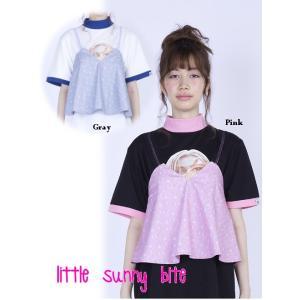 夏セール60%OFF! LITTLE SUNNY BITE(リトルサニーバイト)floral racy camisole  17春夏【LSB-LTOP-031G】|hearty-select