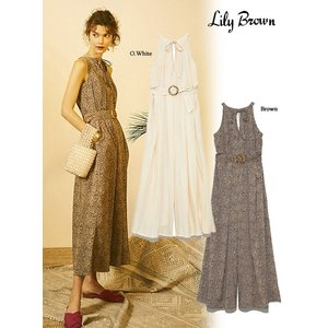 60%OFF Lily Brown リリーブラウン  アメリカンスリーブロンパース  19春夏 LWFO191120 オールインワン・コンビネゾン  定価 13800円|hearty-select