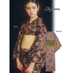 15%OFF Lily Brown リリーブラウン 浴衣  19春夏. LWFO192180 定価16000円|hearty-select