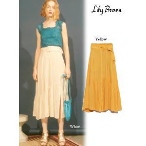 20%OFF Lily Brown(リリーブラウン)コットンスカパン  19春夏. LWFP192015パンツ 定価13800円|hearty-select