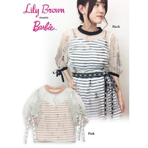 20%OFF Lily Brown リリーブラウン  Barbieレイヤードトップス  19春夏 LWFT191200 シャツ・ブラウス  定価 12800円|hearty-select