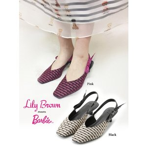 20%OFF Lily Brown リリーブラウン  Barbieコラボパンプス  19春夏 LWGS191323 パンプス  定価 12800円|hearty-select