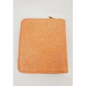 miumiu ミュウミュウ  カーフ二つ折り財布 オレンジARANCIO|hearty-select|04
