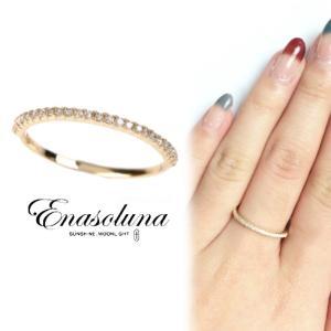 Enasoluna エナソルーナ' Tiny ringダイヤモンド'  RG-1016  母の日 プレゼント ギフト リング|hearty-select