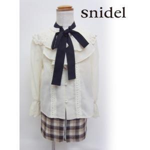 snidel(スナイデル)girlボウタイブラウス  17秋冬【SKFB174201】 hearty-select