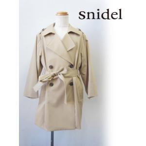 snidel(スナイデル)girlトレンチコート  17秋冬【SKFC174194】 hearty-select