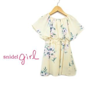 50%OFF snidel girlkidsライン 柄セットアップ  16春夏 SKFO161250 hearty-select
