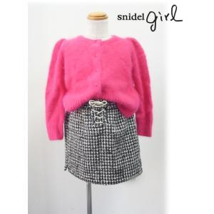 snidel(スナイデル)girlプリントミニスカート  17秋冬.【SKFS175158】 hearty-select