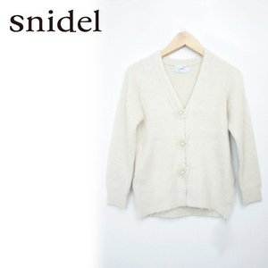 snidel(スナイデル)girlビジューニットガウン  17春夏【SKNT171203】|hearty-select