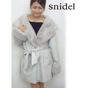 snidel(スナイデル)レディモッズコート  17秋冬【SWFC174009】|hearty-select