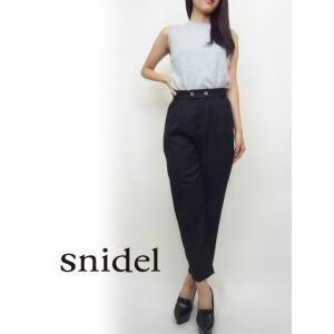 snidel(スナイデル)チェックテーパードパンツ  17秋冬【SWFP174020】|hearty-select