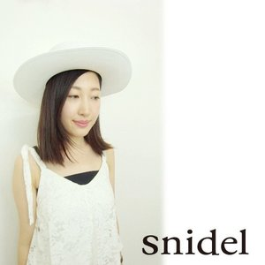 40%OFF snidelスナイデル ブレードカンカンハット  16春夏. SWGH162629|hearty-select