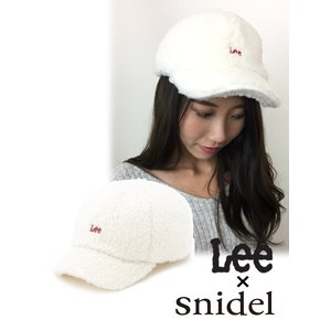 50%OFF snidelスナイデル Leeキャップ  17秋冬. SWGH176602|hearty-select