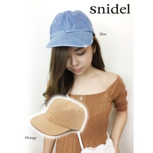 50%OFF  snidel スナイデル ロゴキャップ  18春夏. SWGH182629|hearty-select