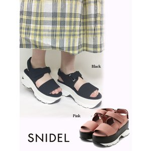20%OFF snidel スナイデル  スニーカーソールサンダル 19春夏 SWGS191630 サンダル  定価 13000円|hearty-select