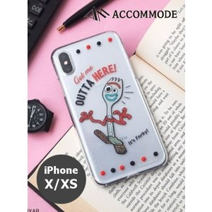 ACCOMMODE  アコモデ TOY STORY4 Carnival iPhone Cases  iPhoneX/XS  19秋冬 フォーキー YY-P003-3 iPhoneX/XS対応|hearty-select