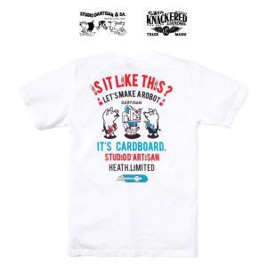 tシャツ メンズ カットソー ステュディオ・ダ・ルチザン STUDIO D'ARTISAN ダルチ ガンダム 大きいサイズ 2XL 厚手 アメカジ バイカー HEATH. ヒース 横浜|heath