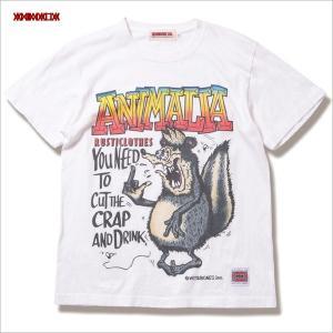 ■ANIMALIA Skunk Fink S/S T-Shirts  □アニマリア 2019年S/S...