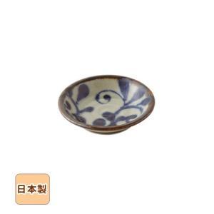 琉球るり唐草 お醤油皿 9.5cm 和食器 日本製 美濃焼