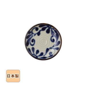 琉球るり唐草 小皿 15.2cm 和食器 日本製 美濃焼
