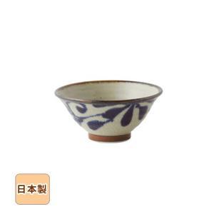 琉球るり唐草 六兵衛ご飯茶碗 15cm 和食器 日本製 美濃焼