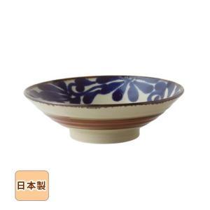 琉球るり唐草 冷やし麺鉢 24.5cm 和食器 日本製 美濃焼