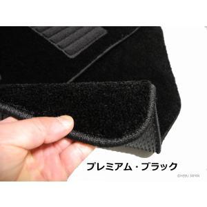 フィアット グランデプント フロアマット 右ハンドル 2006-2012年 プレミアム素材|hebu-japan