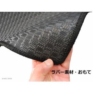 テスラ モデルS フロアマット 右ハンドル 2013年以降 ラバー素材|hebu-japan