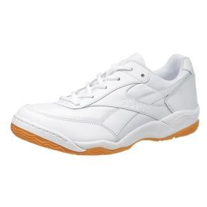 グリッパー34 ホワイト/ホワイト KD78641 アサヒ インドア 体育館シューズ|hed-club7