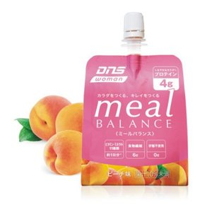 woman meal BALANCE ミールバランス ピーチ味 180g×6個入り DNS |hed-club7