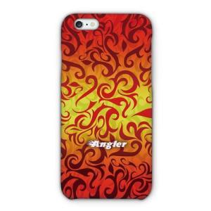 [アングラーズケース] FIRE FISHER ファイヤーパターン1 (商品コード: 2015101601)|hedgehog-studio