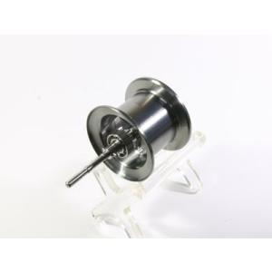 (マグネットモデル) REVO S/SX用 軽量浅溝スプール Avail Microcast Spool RV51LS  ガンメタ *