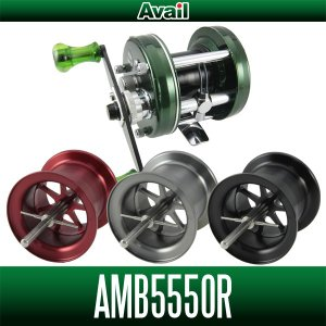 【Avail】アブ アンバサダー 5500 OLD対応 マイクロキャストスプール【AMB5550R】|hedgehog-studio
