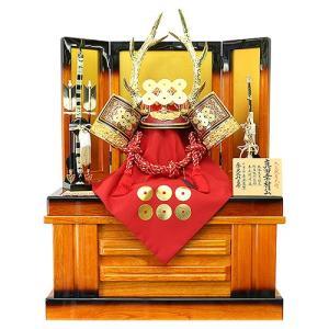 五月人形 真田幸村 兜 収納飾り 着用兜飾り 平安京翠作 人形の平安大新 hm12045|heiandaishin