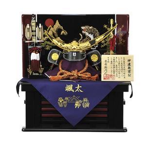 【五月人形】【コンパクト】兜飾り 伊達政宗公 収納飾りセット 人形の平安大新 hm12058|heiandaishin