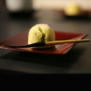 竹和菓子切 金箔