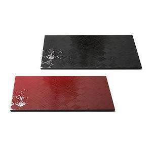 ランチョンマット 刷毛目(ペア) 漆塗り/木製/テーブルマット|heiando