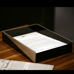 書類入れ 縁錫蒔絵|heiando