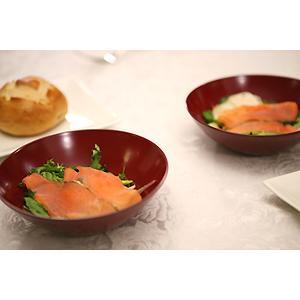 ペア寿恵広小鉢 古代朱(2個組) 和食器/取り鉢/漆塗り heiando