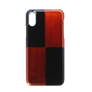 iPhoneケース カバー iPhoneX iPhoneXS 白檀 本漆塗り/ 漆器 |heiando