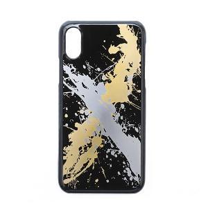 iPhoneケース カバー iPhoneX iPhoneXS しぶき 本漆塗り/ 漆器 |heiando