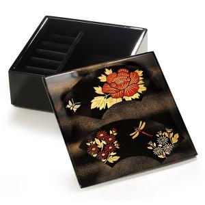 ジュエリーボックス  蝶に蜻蛉 (漆器)|heiando
