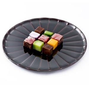 菊皿 溜(8寸) 香典返し/引き出物/ギフト/漆器/漆塗り/皿 heiando