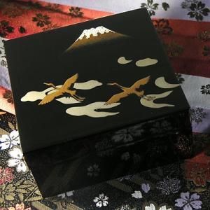 『小箱 富士に鶴蒔絵』|heiando