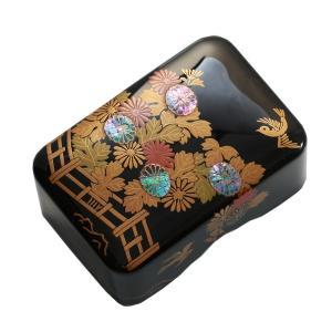 小筥 籬に菊(まがきにきく) 小箱/螺鈿/蒔絵/海外ギフト|heiando