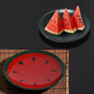 ≪遊び心シリーズ≫丸皿 すいか割り(夏季限定)|heiando|03